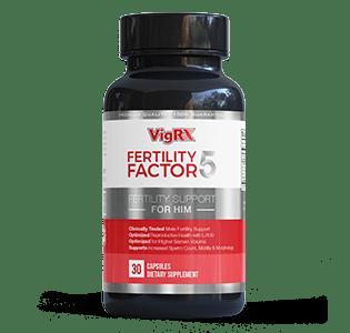 vigrx fertility factor 5 pill to increase sperm count